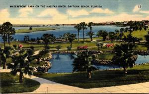 Florida Daytona Beach Waterfront Park On The Halifax River