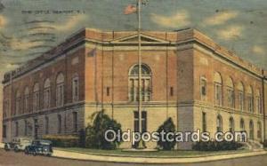 Newport, RI USA,  Post Office Postcard, Postoffice Post Card Old Vintage Anti...