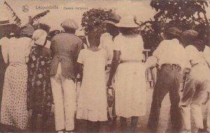 Belgian Congo Leopoldville Danses inigenes