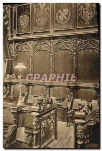 Old Postcard Bruges St Sauver Entree of Stalls