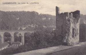 Bridge, La Ruine De Lutzelburg, Luxembourg, 1910-1920s