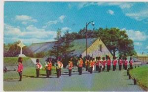 Changing of the Guards at the Citadel, Quebec City, Quebec, Canada 1950s