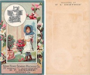 Victorian Trade Card Approx size inches = 3 x 5 Pre 1900