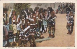 Hopi Indian Snake Dance Curteich