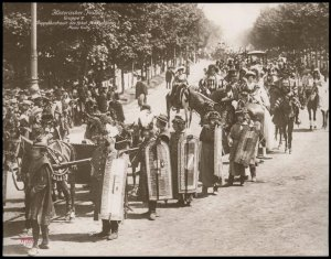 Austria 1908 Kaiser Franz Joseph Huldigungs Festival RPPC Maximilian 94835