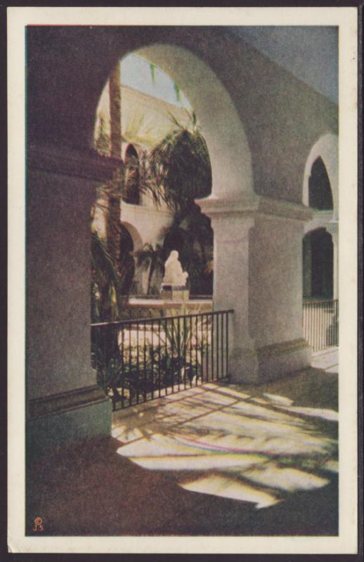 House of Hospitality,California Pacific Exposition Postcard