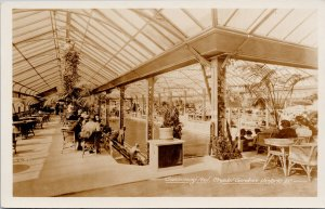 Swimming Pool Crystal Gardens Victoria BC Unused Gowen Sutton RPPC Postcard E68