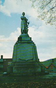 Vermont St Johnsbury Volunteers Statue 1973