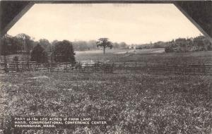 Massachus Framingham, 125 Acres of Farm Land Mass. Congregational Confe...