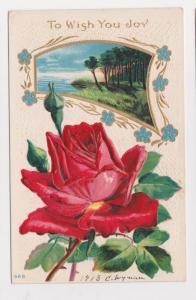 Melvin Mills Warner NH Easter Greetings Vintage Postcard Early 1900s A35