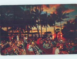 Pre-1980 RESTAURANT SCENE Waikiki - Honolulu Hawaii HI G8755