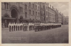 Chelsa Barracks , UK , 1910s ; Parade of Grenadier Guards