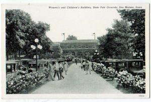 Women's & Children's Bldg. State Fair Grounds, Des Moines IA