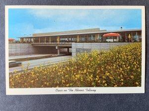 Oasis On The Illinois Tollway IL Chrome Postcard H1170083813