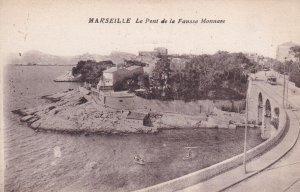MARSEILLE, Provence-Alpes-Cote d'Azur, France, 1900-1910s; Le Pont De La Faus...