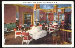 Indian Room Interior Hotel Niagara, Niagara Falls NY Kropp Linen