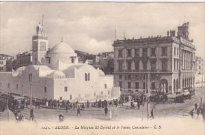 Algeria Alger La Mosquee El-Djedid et le Palais Consulaire