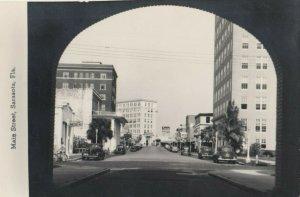 RP: SARASOTA , Florida , 1930-40s ; Main treet