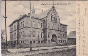 Ohio Uhrichsville High School Building 1906 sk2484