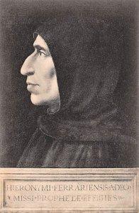 Fra Bartolommeo - Ritratto di Fra Girolamo Savonarola Firenze, Museo di S. Ma...