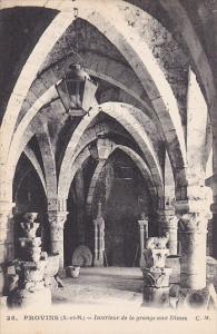 Provins , France , 00-10s ; Interieur de la grange aux Dimes