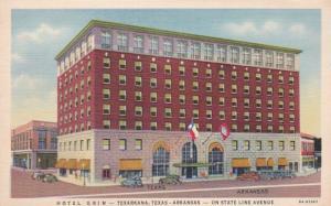 Texas Texarkana Hotel Grim Curteich