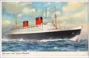 Cunard R.M.S.Queen Elizabeth