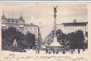 Bellealliance-Platz Mit Friedenssaule, BERLIN, Germany, PU-1903