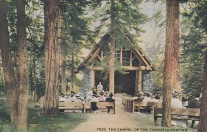 TAHOE , CA , 1900-10s ; Chapel of the Transfiguration
