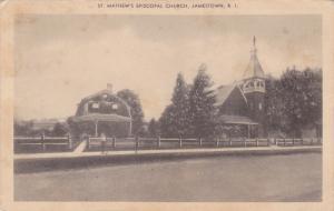 St. Mathew's Episcopal Church, JAMESTOWN, Rhode Island, PU-1949