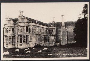 Northamptonshire Postcard - Kirby Hall Facing South   RT2278