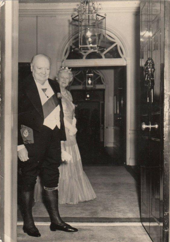 RP: Sir Winston Churchill , Royal Retirement Dinner, 1950s ; 10 Downing Street#1
