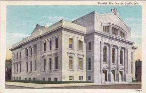 Scottish Rite Temple, Joplin, Missouri, PU 1941