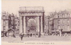 France Bordeaux La Porte de Bourgogne