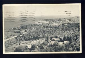 Lincolnville Beach, Maine/ME Postcard, Bonnie Ridge Cabins, 1949!