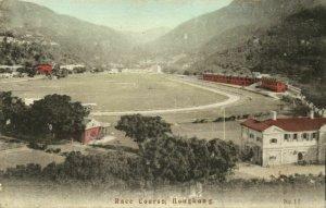 china, HONG KONG, Race Course at Happy Valley (1910s) Postcard