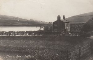 RP: OLDHAM, Manchester, Lancashire, England, UK , 1924 ; Strinesdale