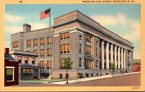 West Virginia Wheeling High School Curteich