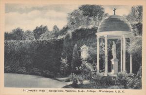 St Joseph's Walk, Georgetown Visitation Convent , WASHINGTON D.C. , 1910-30s