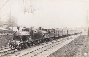 Caledonian Railway Class 0-6-0 1883 Victorian Scottish Train Postcard