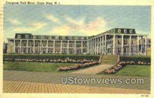 Congress Hall Hotel  Cape May NJ 1941