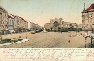 Hungary - Budapest Central Bahnhof 04.63