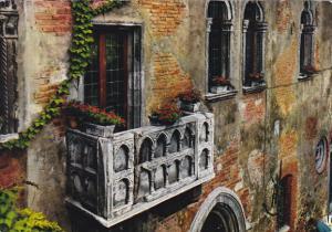 Italy Verona Balcone di Giulietta