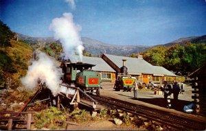 New Hampshire Mt Washington Cog Railway