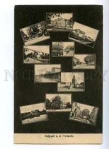 147090 Serbia Belgrad a.d. Persante Vintage multyview postcard