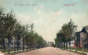 OMAHA , Nebraska , 1900-10s; 39th Street, Looking North
