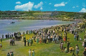 Annual Regatta at famous Quidi Vidi Lake,  St. John's Newfoundland,  Canada, ...