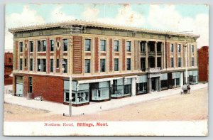 Billings Montana~Northern Hotel~Millinery & Suit House~Window Mannequin~1909