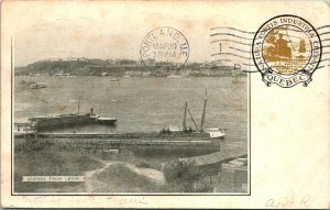 Quebec Canada from Levis Postcard used 1907 Souvenir Postcard