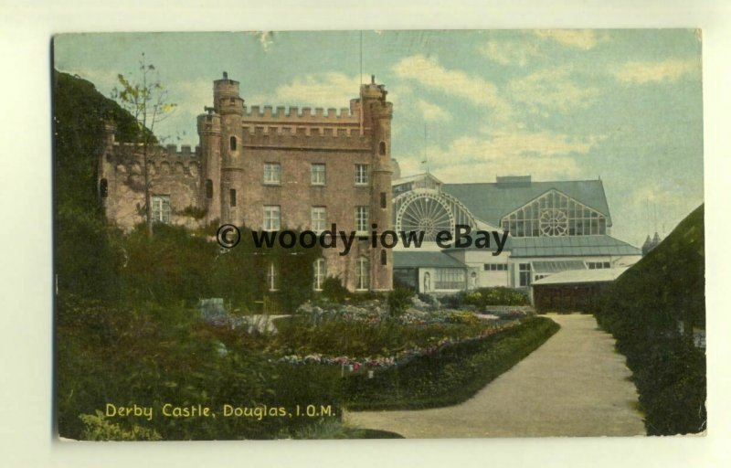 tp7832 - Isle of Man - View of Derby Castle and Gardens, in Douglas - postcard